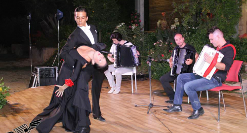 Suggestivo Notturno Selinuntino con Fisarmonica presso il CAM di Triscina di Selinunte